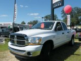 2006 Bright White Dodge Ram 1500 SLT Quad Cab #544554