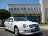 2008 White Suede Ford Fusion SEL V6 #6790742