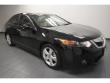 2010 Crystal Black Pearl Acura TSX Sedan #68223696