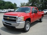 2013 Chevrolet Silverado 3500HD WT Extended Cab 4x4 Data, Info and Specs