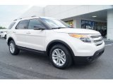 2013 White Platinum Tri-Coat Ford Explorer XLT #68223375