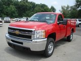 2012 Chevrolet Silverado 2500HD Work Truck Regular Cab Commercial Data, Info and Specs