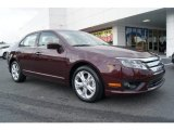 2012 Bordeaux Reserve Metallic Ford Fusion SE #68223372