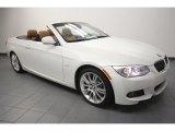 2011 Mineral White Metallic BMW 3 Series 335i Convertible #68223687