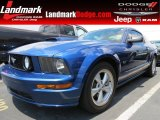 2007 Vista Blue Metallic Ford Mustang GT Deluxe Coupe #68223369