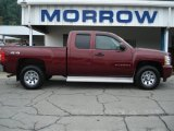 2009 Deep Ruby Red Metallic Chevrolet Silverado 1500 LS Extended Cab 4x4 #68223337