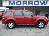 2009 Sangria Red Metallic Ford Escape XLS #68223334