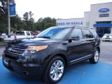 2013 Tuxedo Black Metallic Ford Explorer Limited #68223326