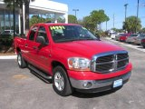 2006 Flame Red Dodge Ram 1500 SLT Quad Cab #611358