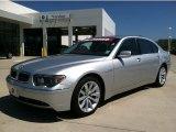 2003 Titanium Silver Metallic BMW 7 Series 760Li Sedan #68223590