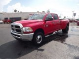 2012 Flame Red Dodge Ram 3500 HD ST Crew Cab 4x4 Dually #68223571