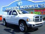 2005 Bright White Dodge Ram 1500 Laramie Quad Cab 4x4 #545983