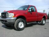 2002 Ford F350 Super Duty XL Regular Cab 4x4 Data, Info and Specs