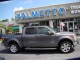 2011 Sterling Grey Metallic Ford F150 Lariat SuperCrew 4x4 #68223540