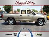 2007 Light Khaki Metallic Dodge Ram 1500 Big Horn Edition Quad Cab 4x4 #68223217