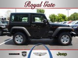 2012 Black Jeep Wrangler Sport 4x4 #68223213