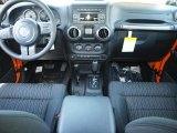 2012 Jeep Wrangler Sport 4x4 Dashboard