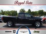 2012 Black Dodge Ram 1500 Big Horn Quad Cab 4x4 #68223208