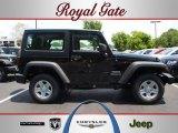 2012 Black Jeep Wrangler Sport 4x4 #68223861