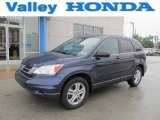 2010 Royal Blue Pearl Honda CR-V EX AWD #68223186