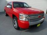 2008 Victory Red Chevrolet Silverado 1500 LT Crew Cab #68223481