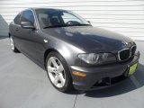 2006 Sparkling Graphite Metallic BMW 3 Series 325i Coupe #68223478