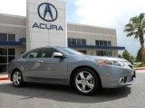 2012 Forged Silver Metallic Acura TSX Technology Sedan #68223167