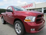 2012 Deep Cherry Red Crystal Pearl Dodge Ram 1500 Express Regular Cab #68223450