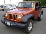 2011 Mango Tango Pearl Jeep Wrangler Sport 4x4 #68223138