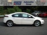 2013 White Diamond Tricoat Chevrolet Volt  #68223395