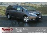 2012 Predawn Gray Mica Toyota Sienna LE #68223109