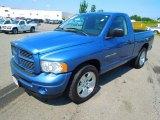 2003 Atlantic Blue Pearl Dodge Ram 1500 ST Regular Cab #68283324