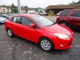 2012 Race Red Ford Focus SE Sedan #68283059