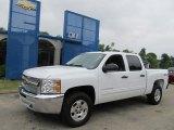 2013 Summit White Chevrolet Silverado 1500 LT Crew Cab 4x4 #68283039