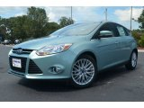 2012 Frosted Glass Metallic Ford Focus SEL 5-Door #68283291