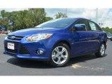 2012 Blue Candy Metallic Ford Focus SE Sport Sedan #68283289