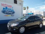 2012 Tuxedo Black Metallic Ford Focus SE Sedan #68283000