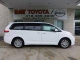 2012 Super White Toyota Sienna XLE AWD #68282987