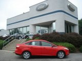 2012 Race Red Ford Focus SEL Sedan #68282963