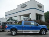 2012 Blue Flame Metallic Ford F150 XLT SuperCrew 4x4 #68282958