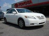 2008 Super White Toyota Camry LE V6 #68282921