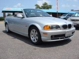 2001 Titanium Silver Metallic BMW 3 Series 325i Convertible #68282896