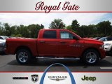 2012 Flame Red Dodge Ram 1500 Express Crew Cab 4x4 #68283504
