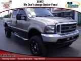 2004 Arizona Beige Metallic Ford F250 Super Duty Lariat Crew Cab 4x4 #68283493