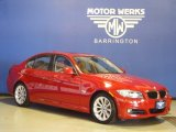 2009 Crimson Red BMW 3 Series 328xi Sedan #68282864