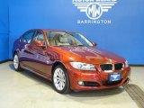 2011 Vermillion Red Metallic BMW 3 Series 328i xDrive Sedan #68282861