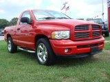 2004 Flame Red Dodge Ram 1500 SLT Regular Cab #68283184