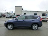 2012 Twilight Blue Metallic Honda CR-V EX-L 4WD #68283430