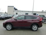 2012 Basque Red Pearl II Honda CR-V EX 4WD #68283425