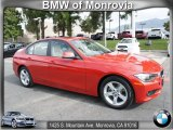 2012 Melbourne Red Metallic BMW 3 Series 328i Sedan #68283137